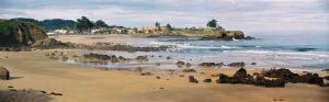 Fotografía de playa de El Barrigón. Asturias