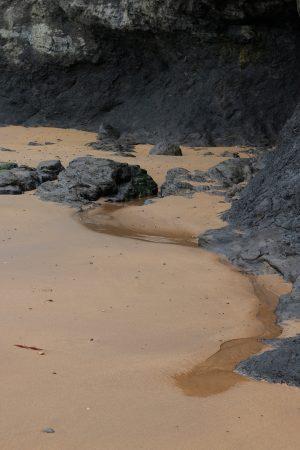 Fotografía de charcos en la playa