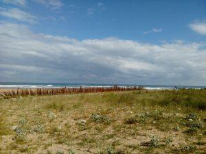 Fotografía de Playa de Vega con marco blanco. 18x13cm. Recomendado comprar Playa de Vega 1 y 2 para hacer composición.