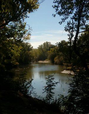 Fotografía del Río Manzanares