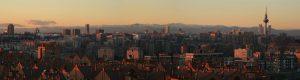 Fotografía de vista panorámica de Madrid