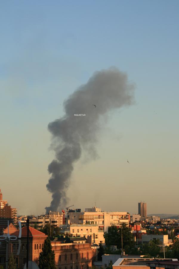 Fotografía de nube de humo