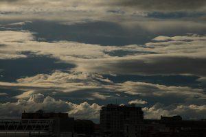 Nubes sobre Madrid